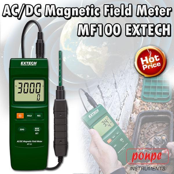 MF100 EXTECH เครื่องวัดสนามแม่เหล็ก AC/DC Magnetic Field Meter