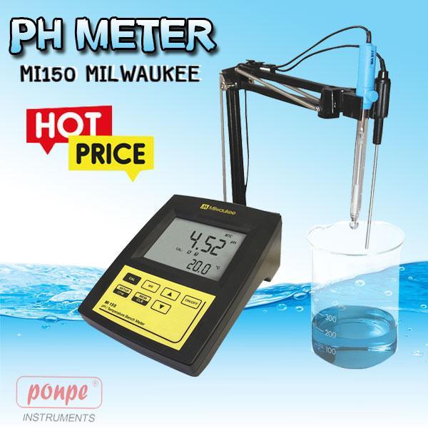 MI150 Milwaukee เครื่องวัดกรดด่าง pH Meter