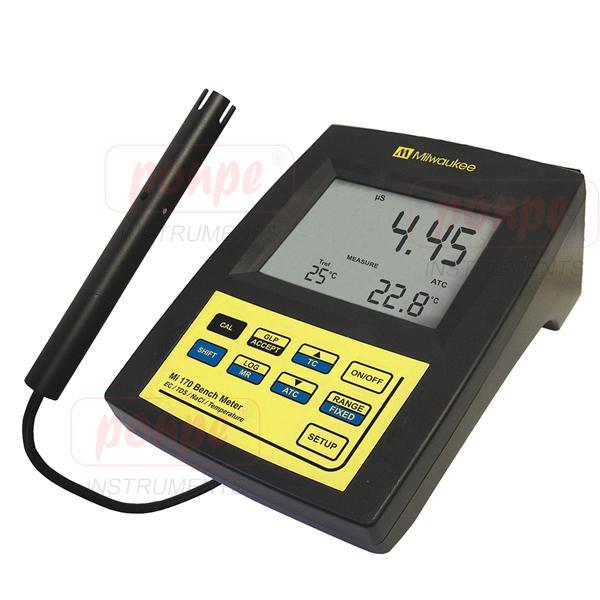 MI180 MILWAUKEE เครื่อง pH, ORP, conductivity, TDS and NaCl