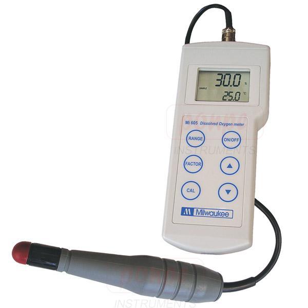 เครื่องวัดออกซิเจนในน้ำ รุ่น MI605