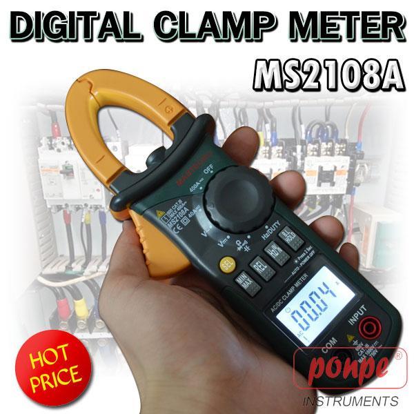 MS2108A MASTECH แคลมป์มิเตอร์ Clamp Meter