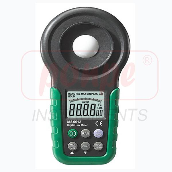 MS6612 MASTECH Digital Light Meters
