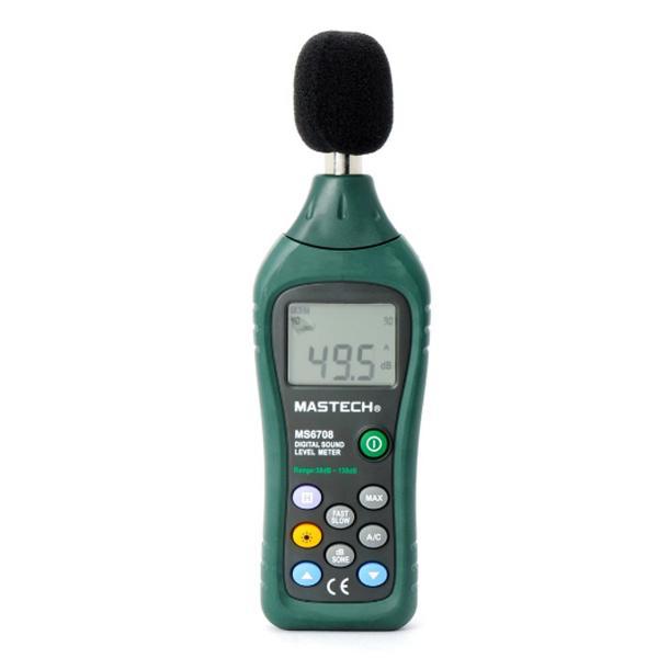 MS6708 / MASTECH เครื่องวัดเสียง Digital Sound Level Meter