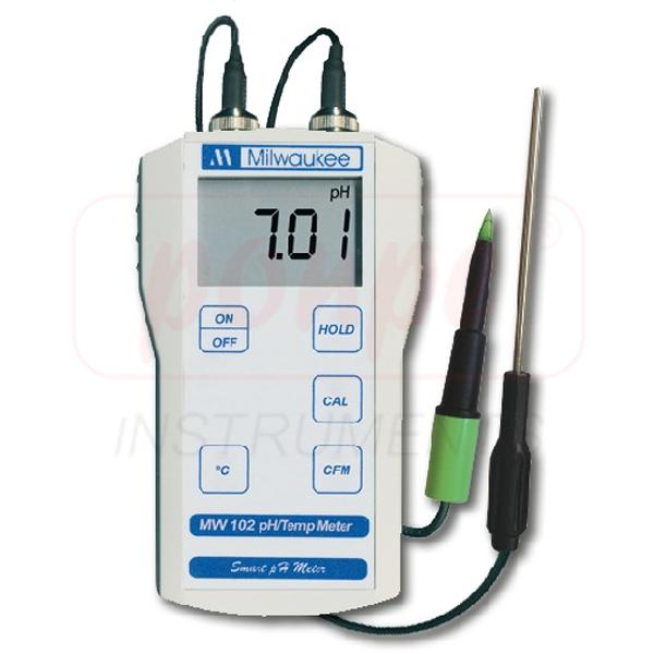 MW102 Milwaukee pH meter  for measuring pH in meat