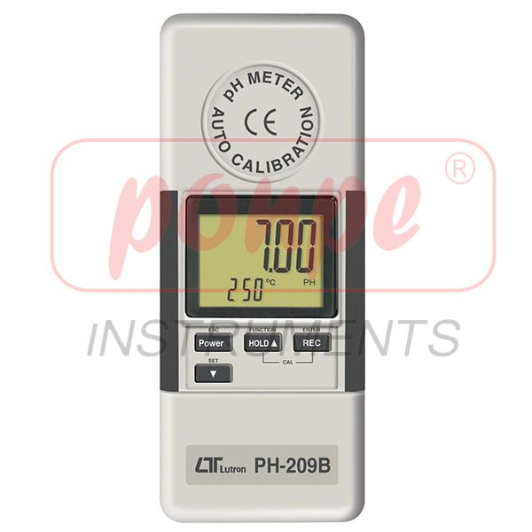 PH-209B LUTRON pH/ORP METER