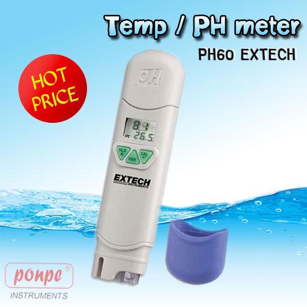 PH meter Waterproof PH60 EXTECH