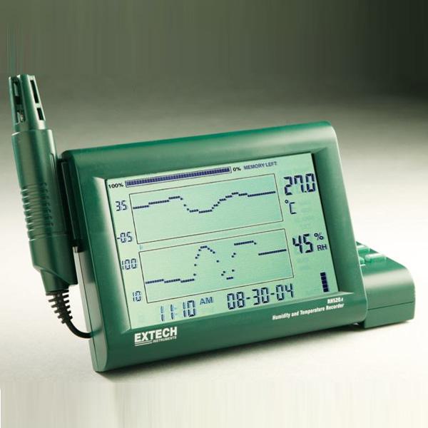 RH520A-220 Extech เครื่องวัดและบันทึกอุณหภูมิ ความชื้น