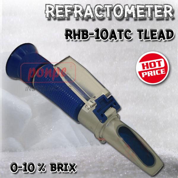 Refractometer เครื่องวัดค่าความหวาน RHB-10ATC
