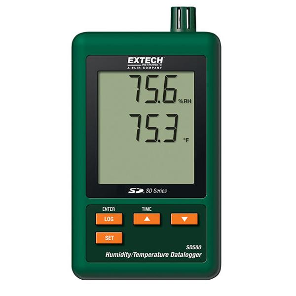 SD500 Extech เครื่องวัดและบันทึกอุณหภูมิ ความชื้น