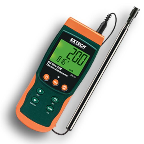 SDL350 EXTECH เครื่องวัดความเร็วลมแบบ Hot Wire