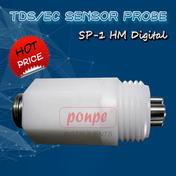 SP-1: TDS/EC Sensor Probe for the Panel Mounted Controllers