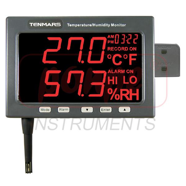 TM-185D TENMARS เครื่องวัดอุณหภูมิและความชื้น