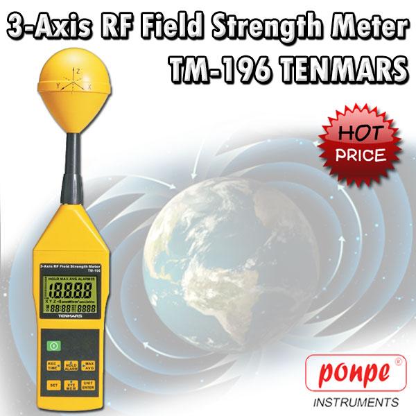 TM-196 Tenmars เครื่องวัดสนามแม่เหล็ก EMF Meter