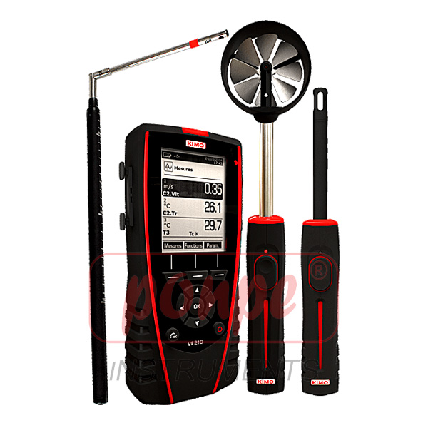 Thermo-hygrometer-anemometer VT210