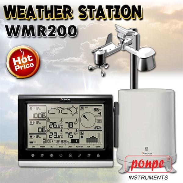 WMR200 Oregon Weather Station เครื่องวัดสภาพอากาศ