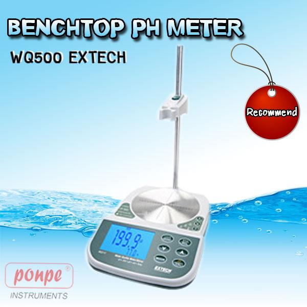 WQ500 EXTECH เครื่องวัดค่ากรดด่าง Benchtop pH Meter