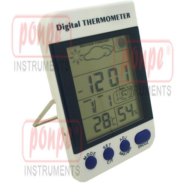 เครื่องวัดสภาพอากาศ เครื่องวัดอุณหภูมิ ความชื้น AMT-110