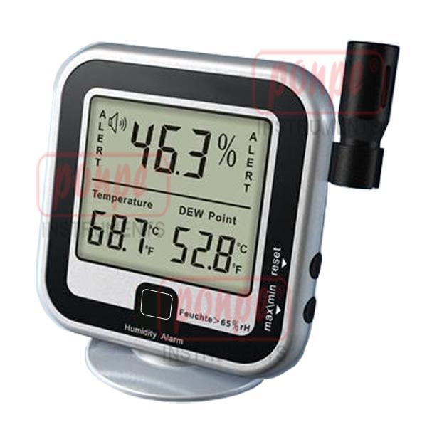 เครื่องวัดอุณหภูมิ ความชื้น ตั้งเตือนความชื้นได้ Humidity Alarm AMT-123