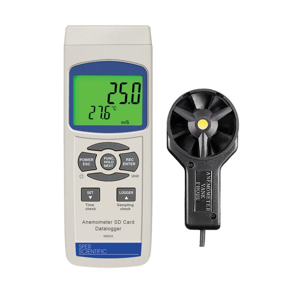 Anemometer CFM Datalogger 840001