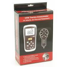 เครื่องวัดความเร็วลม CFM/CMM with IR Thermo DT-620