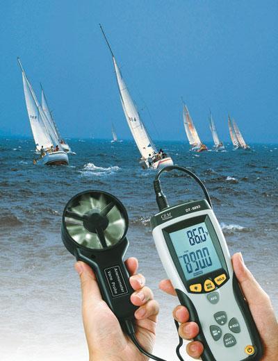 เครื่องวัดความเร็วลม CFM/CMM with IR Thermometer  DT-8894