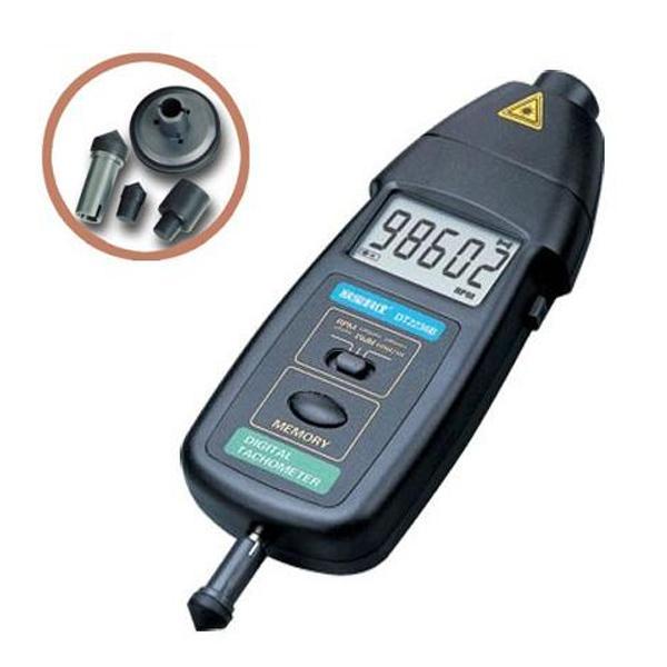 เครื่องวัดความเร็วรอบ Tachometer แบบเลเซอร์และแบบสัมผัส DT2236B
