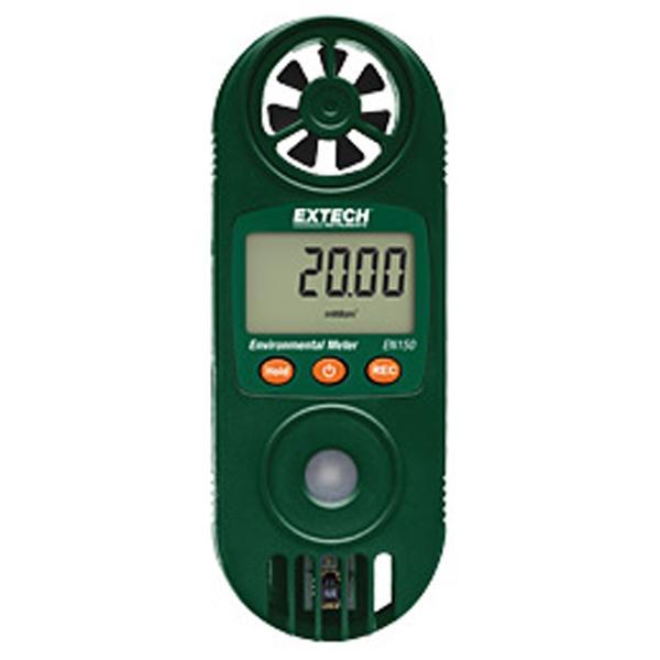 Compact Hygro-Thermo-Anemometer with UV Light Sensor EN150