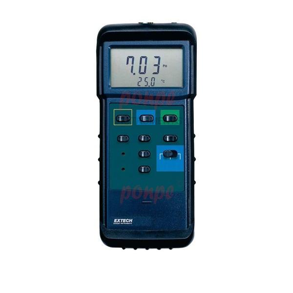 407228 EXTECH Heavy Duty pH/mV/Temp Meter