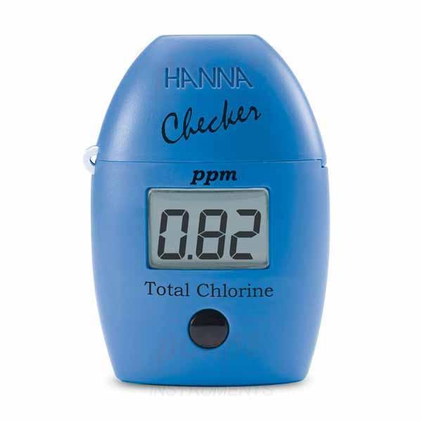 เครื่องวัดคลอรีน Checker Total Chlorine  HI711