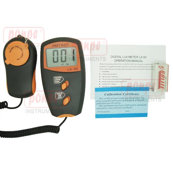 เครื่องวัดแสง Digital Lux Meter LX-90+