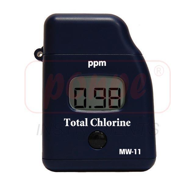 MW11 Milwaukee เครื่องวัดคลอรีนรวม Total Chlorine Handy Photometer