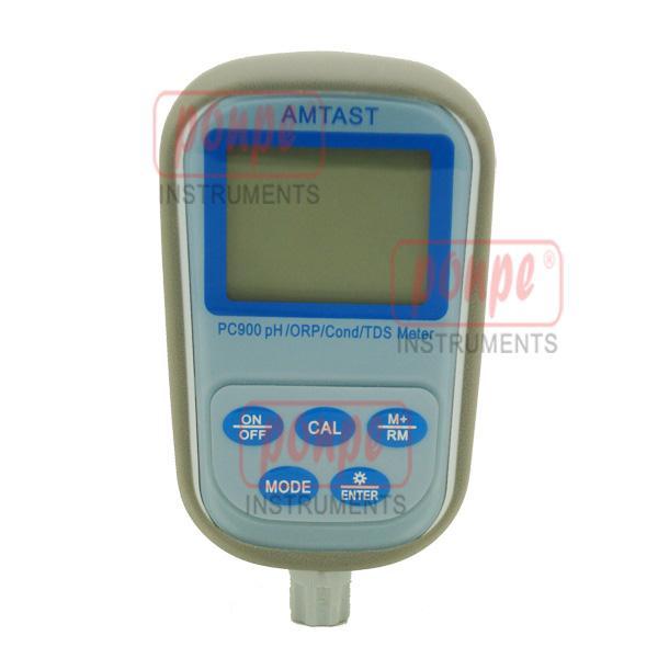 PC900 AMTAST เครื่องวัดกรดด่าง 7 IN 1 Professional pH/ORP/Conductivity/TDS/Temp Meter