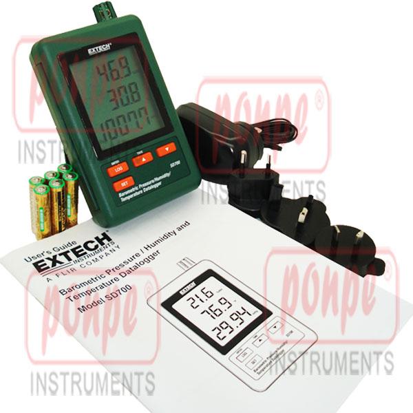SD700 Extech เครื่องวัดอุณหภูมิ ความชื้น และความดันบรรยากาศ