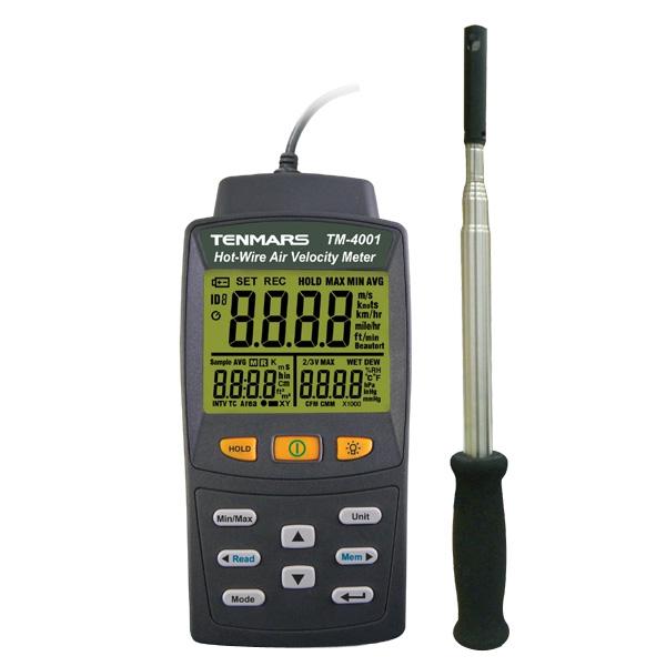 TM-4001 TENMARS เครื่องวัดความเร็วลม