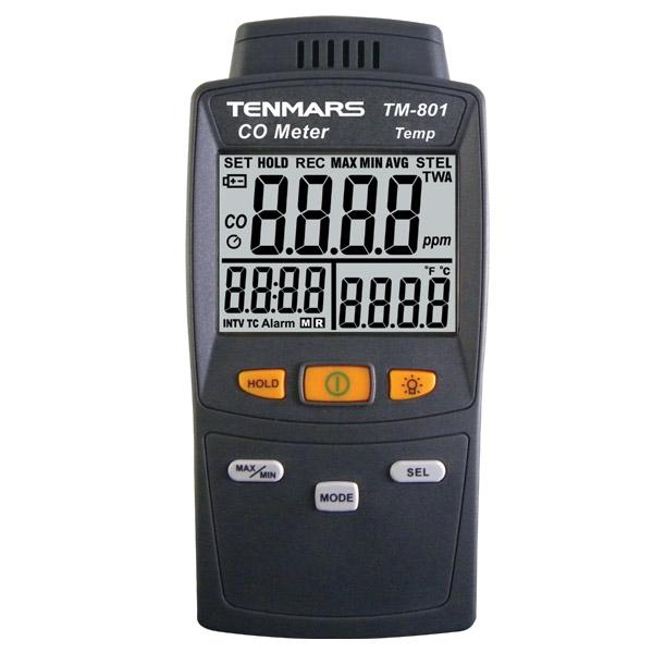 TM-801 TENMARS เครื่องวัดคาร์บอนมอนอกไซด์