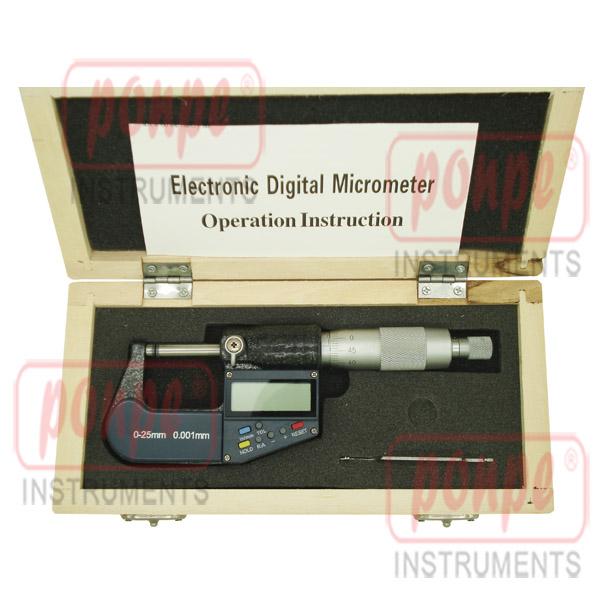 Electronic Digital Micrometer ไมโครมิเตอร์ TOMTOP-0-25