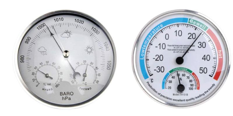เครื่องวัดอุณหภูมิและความชื้นAnalog