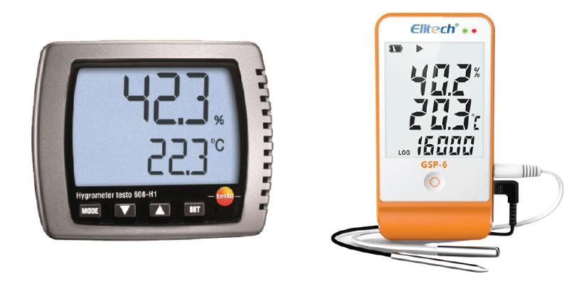 เครื่องวัดอุณหภูมิและความชื้นDigtal