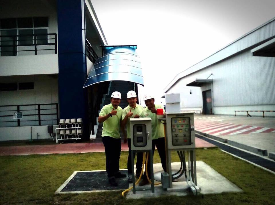 ติดตั้ง pH & DO Controller @Kyokuyo Industrial (Thailand) Co.,Ltd