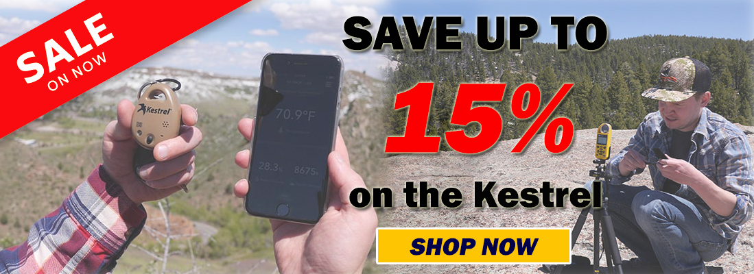 Kestrel 15% off