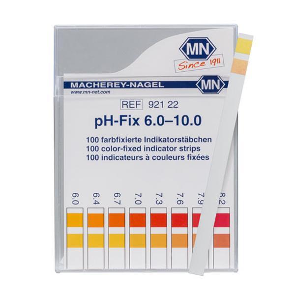 ก้านวัดกรด ด่าง pH Test Strip pH-Fix 6.0-10.0