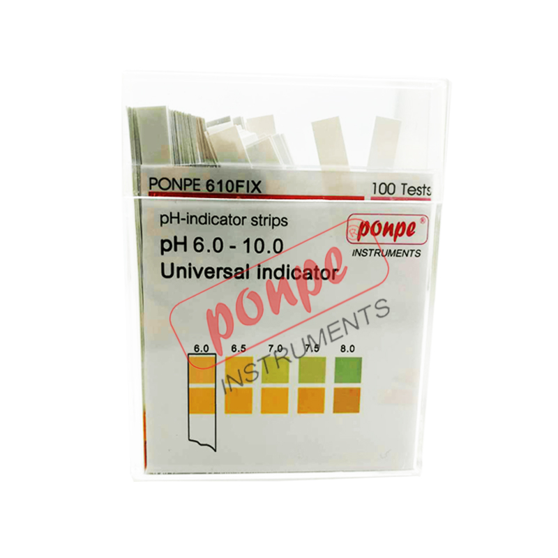 PONPE 610FIX LYMPHAS PH TEST STRIP