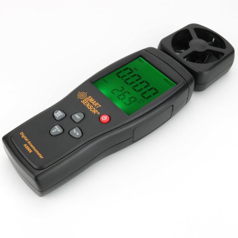 AS806 / SMART SENSOR Digital Anemometer