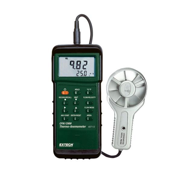 407113-NIST / Extech เครื่องวัดความเร็วลม Anemometer