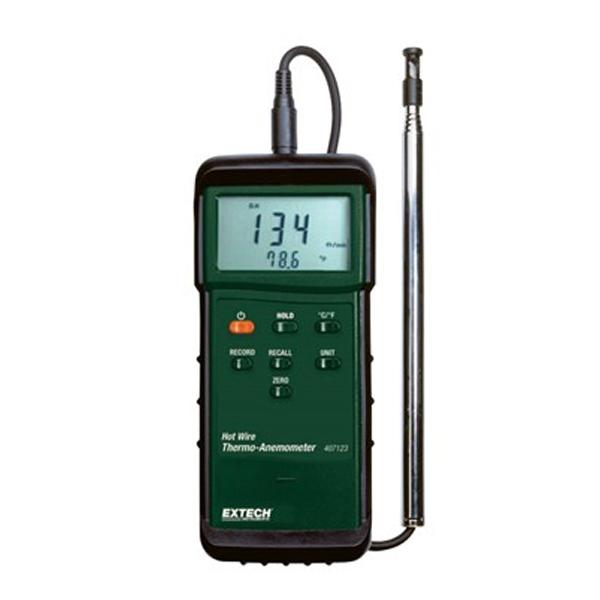 407123-NIST / Extech  เครื่องวัดความเร็วลม Anemometer