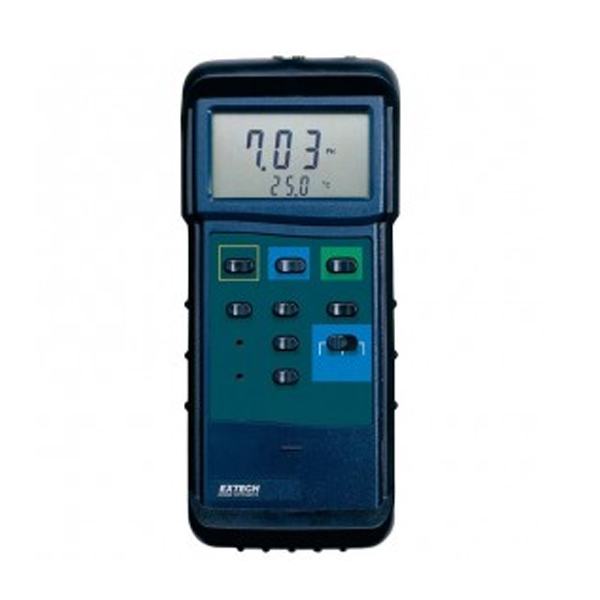 407228-NIST / Extech  Heavy Duty pH/mV/Temperature Meter Kit