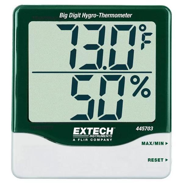 445703 Extech เครื่องวัดอุณหภูมิ ความชื้น Hygro-Thermometer