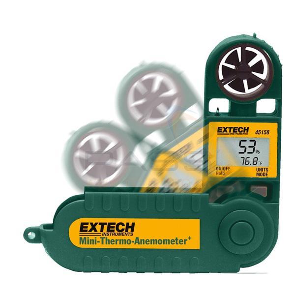 45158 EXTECH เครื่องวัดความเร็วลม อุณหภูมิ และความชื้น
