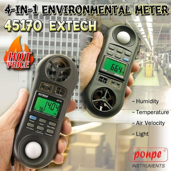 45170 EXTECH Meter Lux Meter