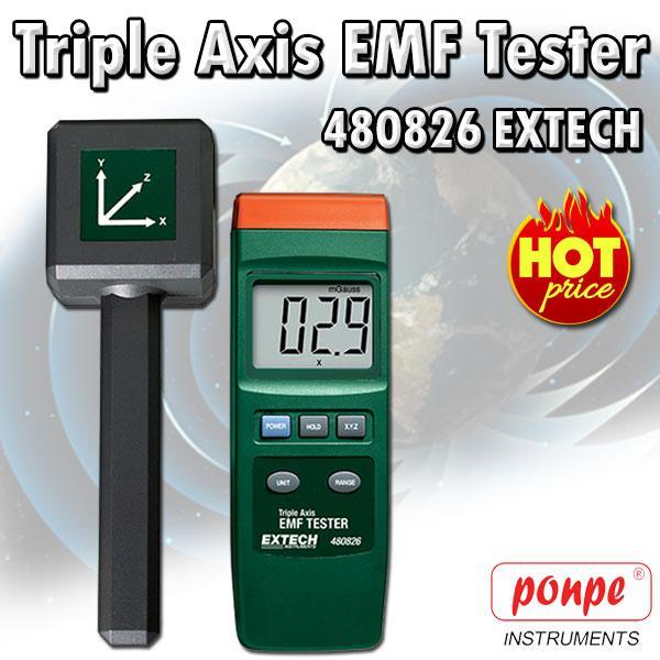 480826 EXTECH EMF Meter เครื่องวัดสนามแม่เหล็ก